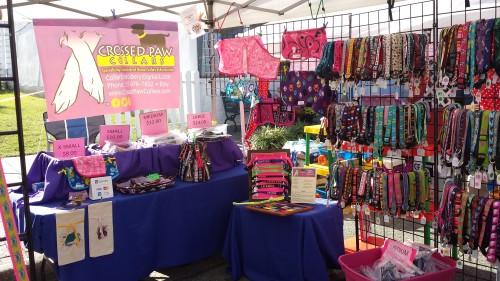 vendor set up west point