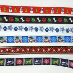 CUSTOM COLLARS Create your own - Choose your RIBBON -- ALL sizes